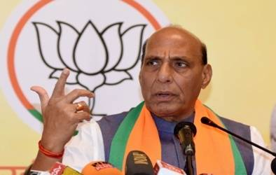Rajnath Singh named deputy leader in Lok Sabha